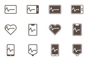 Flatline Icons