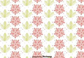 Flower And Leaf Gipsy Style Seamless Pattern