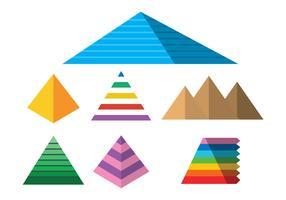 Piramide vector