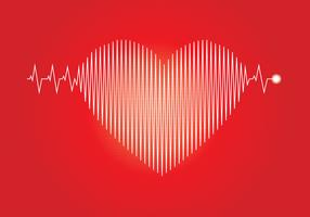 Flatline Heart Beat Illustration
