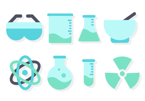 Free Chemistry Set Vector