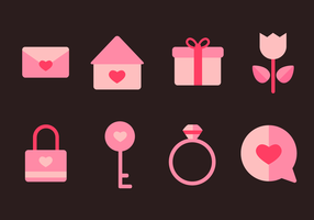 Free Love Icons Vector