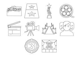 Free Hollywood Icon Vector