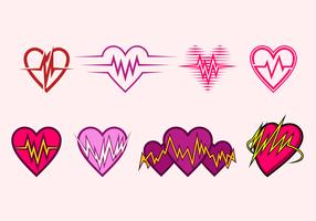 Heart Rate Icon Free Vector
