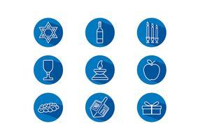 Shabbat Icon Free Vector