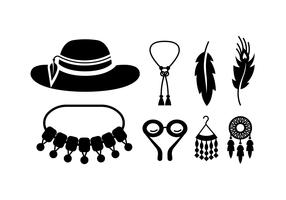 Boho / gypsy stuff vectors