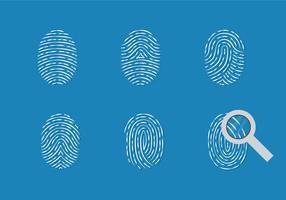 Theft Fingerprint Vector Set