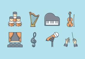 Free Musical Performance Icons
