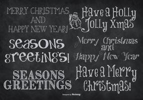 Cute Hand Drawn Style Christmas Lettering