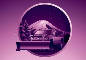 Snow Plow Free Vector
