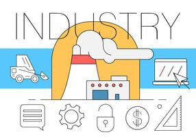 Free Industrial Illustration