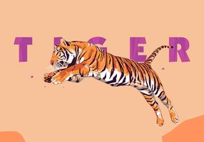 Tiger - Popart Portrait