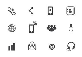 Free Communication Vector Icons