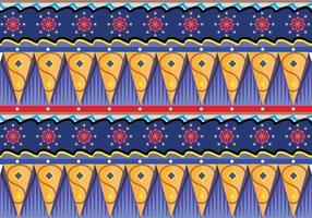 Gipsy Pattern Vector Art