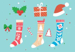 Christmas Vector Stockings