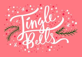 Jingle Bells Christmas Lettering