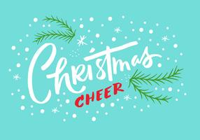 Christmas Cheer Lettering