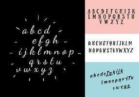 Decorative Alphabet Vector Set