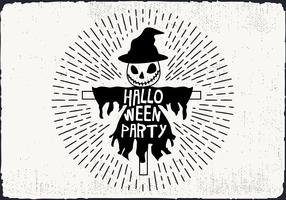 Free Halloween Party Vector Illustration