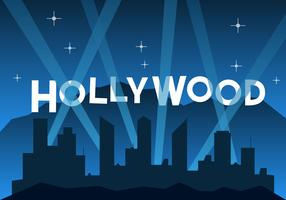 Free Hollywood Illustration