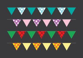 Bunting Party Flag