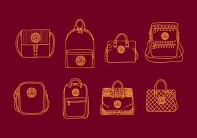 Versace Bag Illustrations