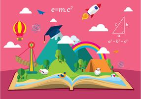 Story Telling Education Free Vector