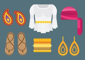 Free Gipsy Icons Vector