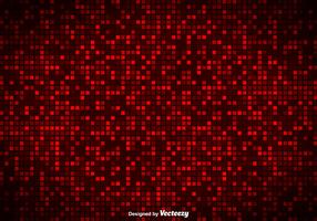 Vector Red Tiles Background