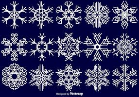 Snowflakes Collection - Vector