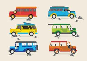 Jeepney Traditional Philippines Bus Vector
