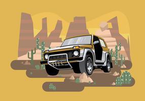 Jeep Illustration Vector
