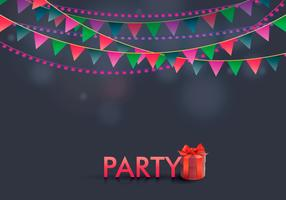 Party Favors Illustration Template