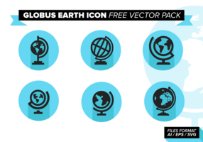 Globus Earth Icon Free Vector Pack