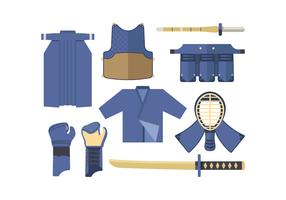 Free Kendo Vector Set