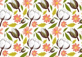 Free Cotton Pattern Vectors