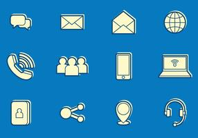 Email and communication icons