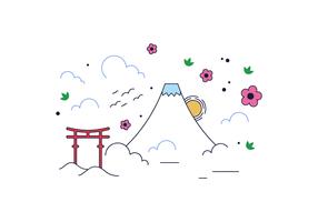 Free Mount Fuji Vector