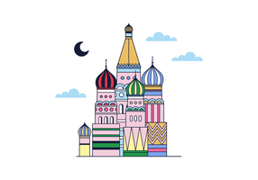 Free Moscow Vector