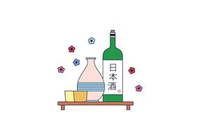 Free Sake Vector
