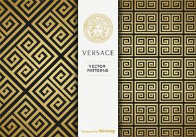 Free Versace Golden Vector Patterns