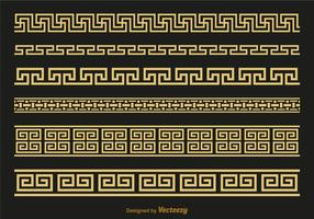 Free Versace Greek Key Brushes Vector