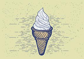Free Vector Detailed Icecream Illustration