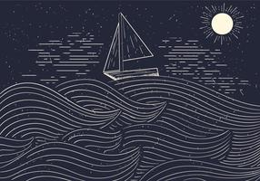 Free Detailed Vector Illustration Of The Sea