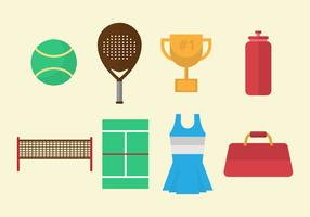 Free Padel Vector Icons