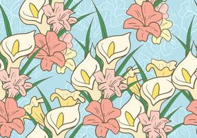Easter Lily Background