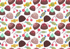 Free Sweets Pattern 2 Vectors