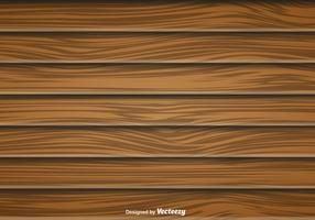 Large Wood Planks Vector Background