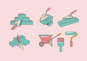 Masonry Icon Vector
