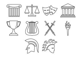 Free Greek Icon Vector